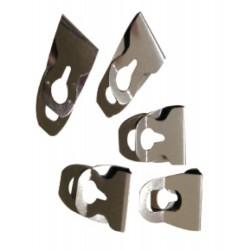 南冠 夾片-不鏽鋼方便夾(20入散裝) 1x1.8cm