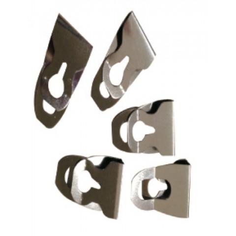 南冠 夾片-不鏽鋼方便夾(20入) 9.5x8.8cm