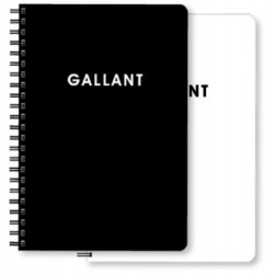 南冠 100K黑白筆記-空白 10.7x7.9cm 60頁