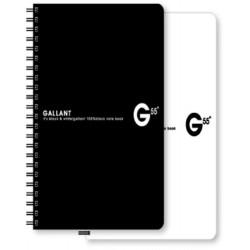 南冠 50K黑白筆記-橫線 15.6x10cm 78頁