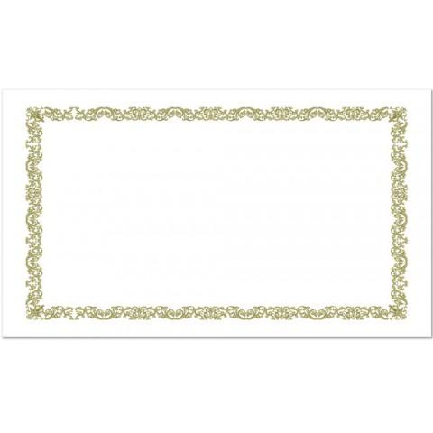 南冠 A4直橫式燙金獎狀紙 29.7x21cm 10入