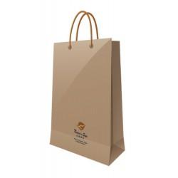 南冠 公文袋-小小提袋/牛皮紙袋 18.4x15.8x8.6CM 1入