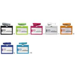 南冠 素色識別證套-附繩夾(特價品) 7.4x10.2cm