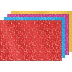 加長鋁箔包裝紙-音塔 60入 100x150cm 四季紙品