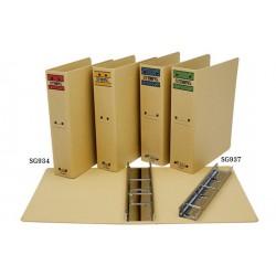 自強牌 SG937 三孔管型夾(1打裝) (訂製品/另外報價)