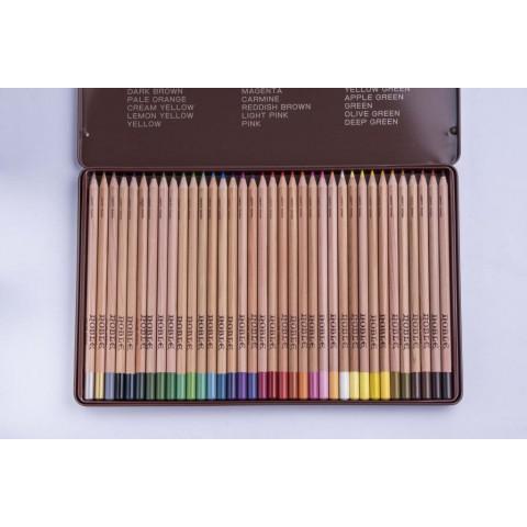 利百代 CC-936 原木色鉛筆36色(鐵盒)