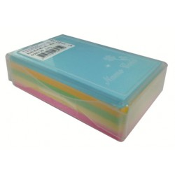 彩色名卡/空白名片 200磅厚 100入 5色/綜合