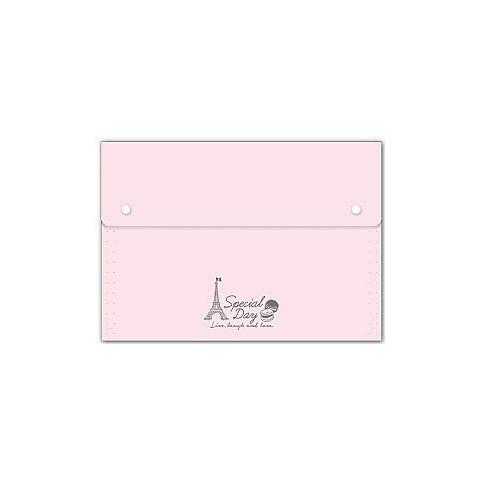 風琴夾A4大13格/12層-浪漫馬卡龍系列 四季紙品 RB9291