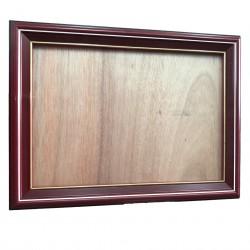 A4獎狀框/相框 紅木 直橫雙用