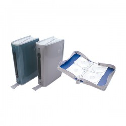 WIP聯合 100片手提活頁光碟拉鍊包 CD102