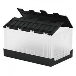 樹德 FB-6040L 掀蓋摺疊物流箱