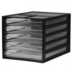 樹德 DD-1205 【livinbox】A4 5抽桌上文件資料櫃
