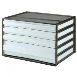 樹德 DDH-113 【livinbox】A4 4抽橫式資料櫃
