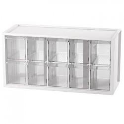 樹德 A9-510 【livinbox】小幫手零件分類箱(10抽)