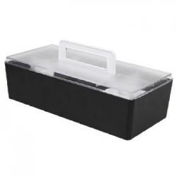 樹德 CTB-3215L 【livinbox】手提可推疊收納盒