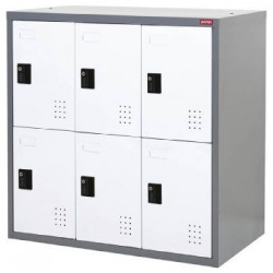 樹德 FC9-306 【Shuter】6門多功能密碼鎖置物櫃