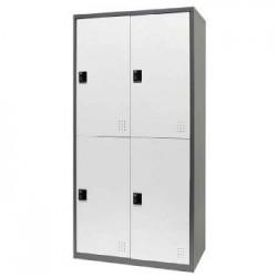 樹德 FC1-204 【Shuter】雙排4門多功能密碼鎖置物櫃