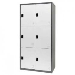 樹德 FC1-206 【Shuter】雙排6門多功能密碼鎖置物櫃