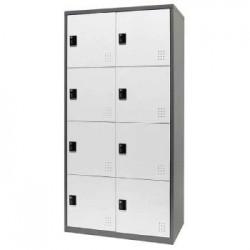 樹德 FC1-208 【Shuter】雙排8門多功能密碼鎖置物櫃