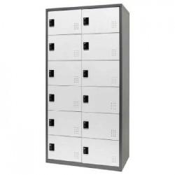 樹德 FC1-212 【Shuter】雙排12門多功能密碼鎖置物櫃
