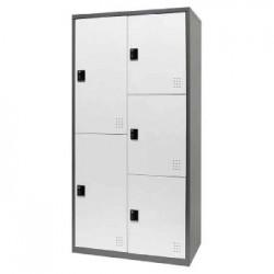 樹德 FC1-M205 【Shuter】雙排5門多功能密碼鎖置物櫃