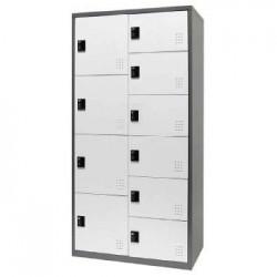 樹德 FC1-M210 【Shuter】雙排10門多功能密碼鎖置物櫃