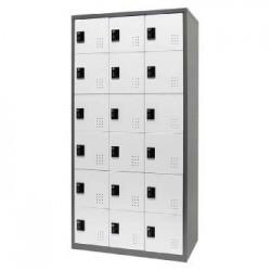 樹德 FC-318 【Shuter】三排18門多功能密碼鎖置物櫃