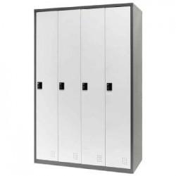 樹德 FC-404 【Shuter】四排4門多功能密碼鎖置物櫃