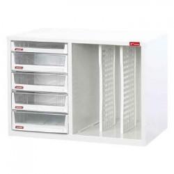 樹德 A4XM1-4H1P2V A4X桌上型樹德櫃