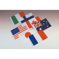 萬國小國旗 16x24CM