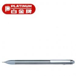 [畢業禮物][免費刻字]PLATINUM 白金牌 MWB-1000BS(MB-350BS) 按壓式3功能筆/支