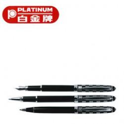 [畢業禮物][免費刻字]PLATINUM 白金牌 PT-500 鋼筆&WT-400 0.5mm鋼珠筆&BT-400 0.7mm原子筆 3支入套筆/組