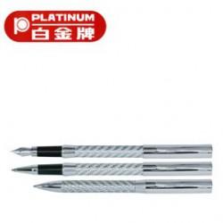 [畢業禮物][免費刻字]PLATINUM 白金牌 PT-350 鋼筆&WT-250 0.5mm鋼珠筆&BT-250 原子筆 3支入套筆/組