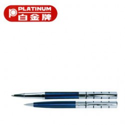 [畢業禮物][免費刻字]PLATINUM 白金牌 WT-150 0.5mm鋼珠筆&BT-150 原子筆 2支入對筆/組