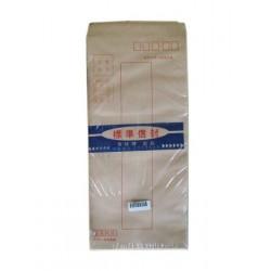 70P 15K大牛皮標準信封10X23cm (6000入)