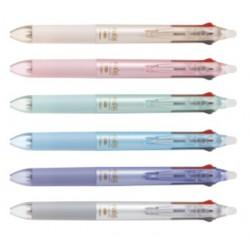 PILOT百樂 LKFB-40EF 二色按鍵魔擦筆(黑紅/藍紅) 0.5