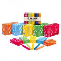自強STRONG 彩色粉筆 2000支入/50盒/箱 顏色-黃
