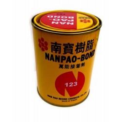 南寶樹脂 NO.123 萬能接著劑(強力膠) /鐵罐