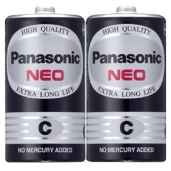 國際 碳鋅電池/2號 2入/組