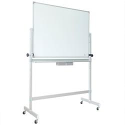 鋁合金雙面架+雙面磁白板 白板尺寸 90cm高x150cm寬