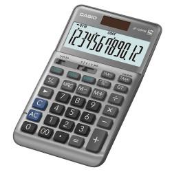 [公司貨2年保固]CASIO 計算機 JF-120FM 12位數 輕巧桌上型 大型顯示幕 金屬面板 快速輸入 小數位數選擇鈕 數值簡化選擇