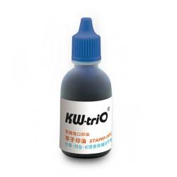 KW-triO 原子印油 28ml 9Z1C2 紅藍二色 德國進口 墨印清晰