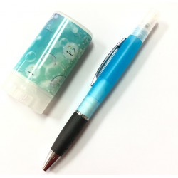 防疫文具組 酒精瓶筆+隨身肥皂