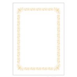 四季紙品 高質感燙金獎狀 直橫 A4 ZG004-1