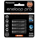 國際牌 黑鑽款 eneloop PRO 低自放4號充電電池 BK-4HCCE 4入