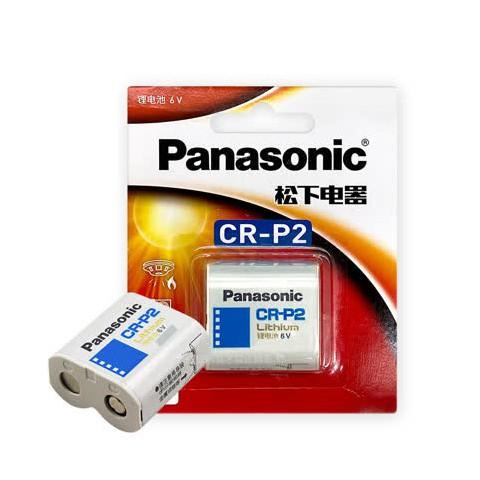 國際牌 一次性電池相機用鋰電池1入 CR-P2