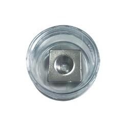 南冠 方形帶孔超強力磁鐵 20x20x4mm K05366