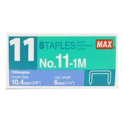日本MAX NO.11號訂書針 NO.11-1M