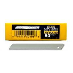 OLFA 無折痕小型美工刀片 AB-SOL-50