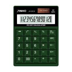 JINHO京禾 JH-2616 12位元計算機 復古機械按鍵